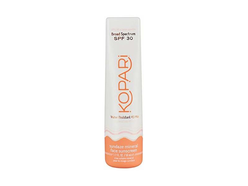 Kopari Sundaze Mineral Face Sunscreen Lotion SPF 30