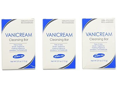 Vanicream Cleansing Bar, 3.9 oz (Pack of 3) - Image 3