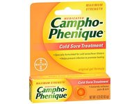 Campho-Phenique Original Cold Sore Treatment Gel Formula - 0.23 oz, Pack of 5 - Image 2