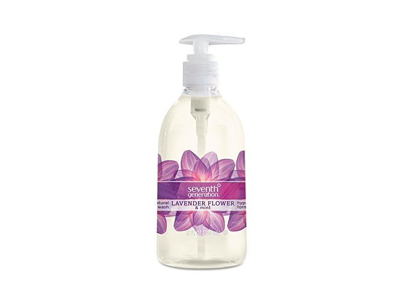 Seventh Generation Hand Wash, Lavender And Mint, 12 Ounce