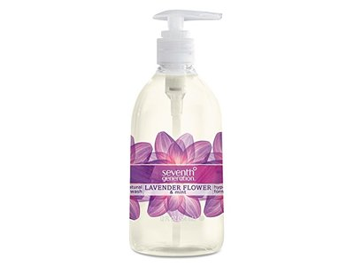 Seventh Generation Hand Wash, Lavender And Mint, 12 Ounce - Image 1