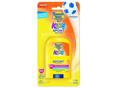 Banana Boat Kids Sport Stick, SPF50, 0.5 oz