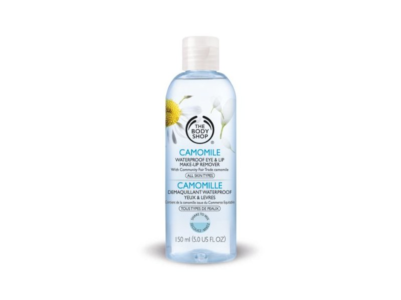 Camomile Waterproof Eye Makeup Remover, The Body Shop