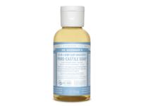 Dr. Bronner's Baby Unscented Pure-Castile Liquid Soap, 2 fl oz - Image 1