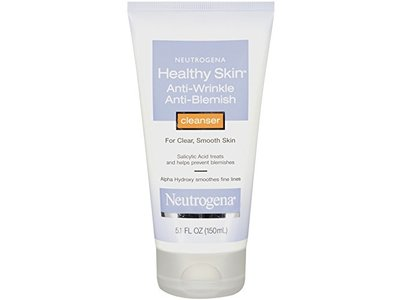 Neutrogena Healthy Skin Anti-Wrinkle Anti-Blemish Cleanser, 5.1 Ounce
