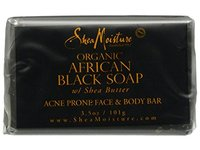 SheaMoisture African Black Soap Face & Body Bar, 3.5 oz - Image 2