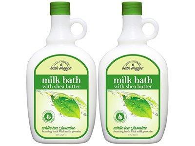 Bath Shoppe Milk Bath with Shea Butter, White Tea & Jasmine, 28 fl oz