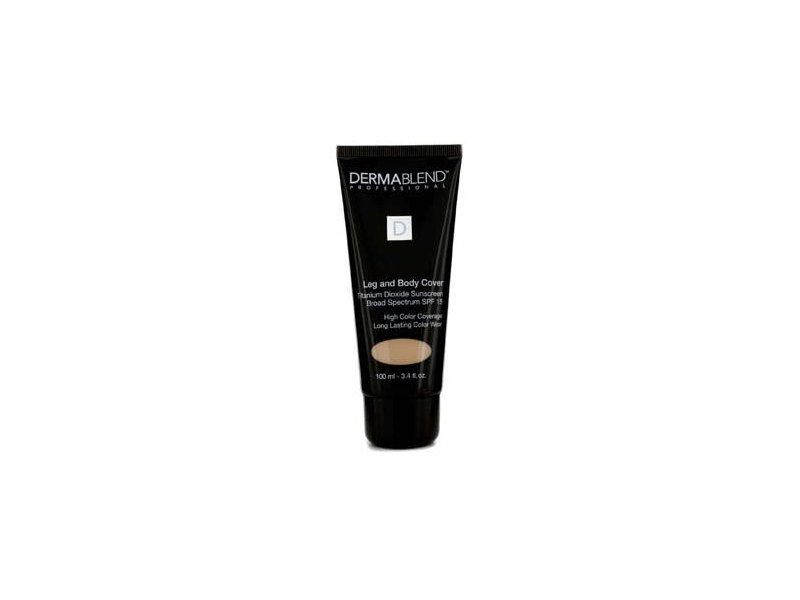 Dermablend Leg and Body Cover, SPF 15, Suntan, 3.4 fl. oz.
