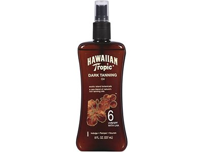 Hawaiian Tropic Dark Tanning Oil, SPF6, 8 fl oz