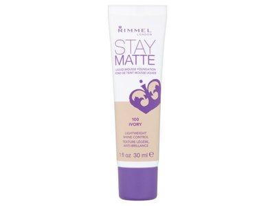 Rimmel London Stay Matte Liquid Mousse Foundation - 100 Ivory - Image 1