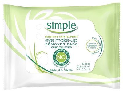 Simple Skincare Eye Make-up Remover Pads, Unilever - Image 3