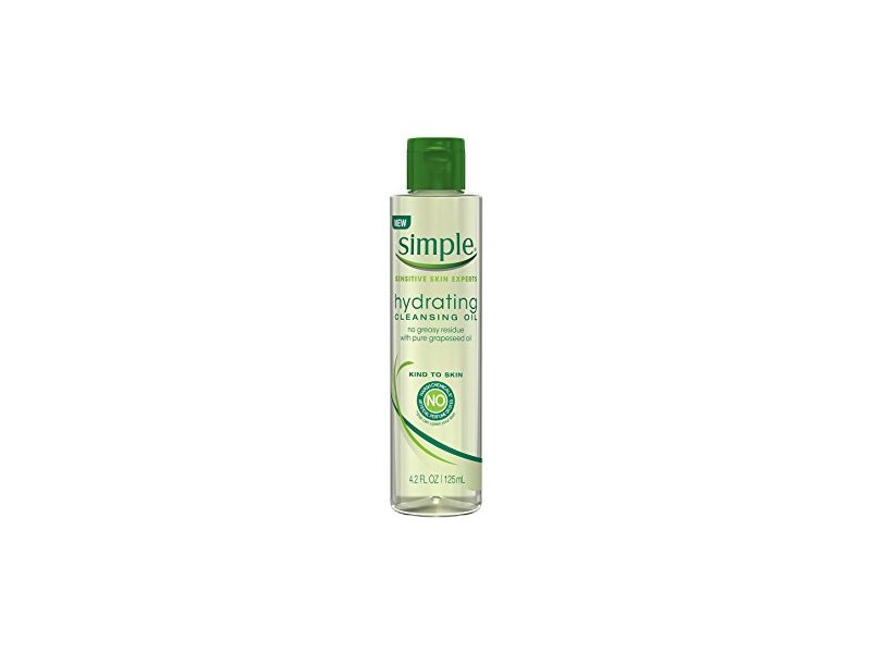 Simple Sensitive Skin Experts Hydrating Cleansing Oil, 4.4 fl oz