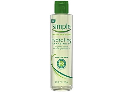 Simple Sensitive Skin Experts Hydrating Cleansing Oil, 4.4 fl oz - Image 1