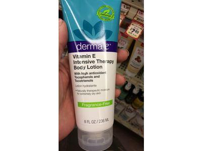 Derma E Vitamin E, Intensive Therapy Body Lotion, Fragrance Free, 8 FLuid Ounces - Image 3