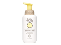 Sun Bum Baby Bum Foaming Shampoo & Wash, Fragrance-Free - Image 2