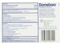 Domeboro Astringent Solution, 12 packets - Image 5