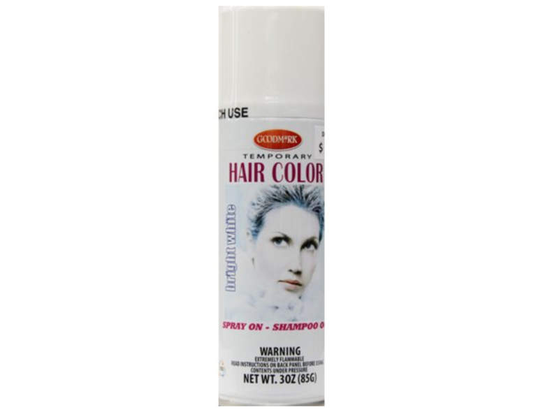 Goodmark Temporary Hair Color, Bright White, 3 oz