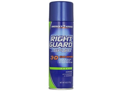 Right Guard Fresh Aerosol Spray Antiperspirant, 6 oz