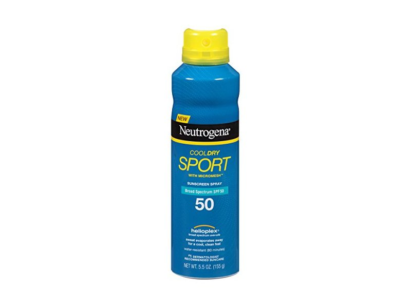 Neutrogena Cool Dry Sport Spray SPF 50, 5.5 Ounce