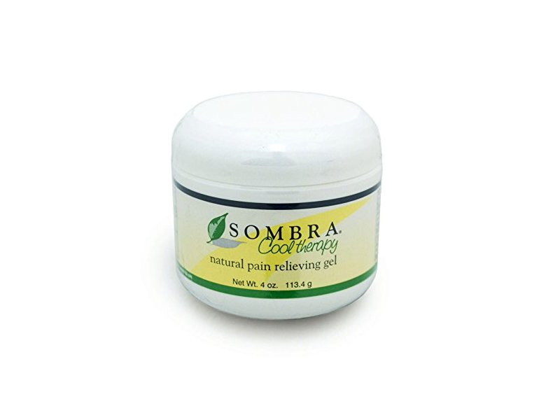 Sombra Cool Therapy Natural Pain Relieving Gel, 4 oz
