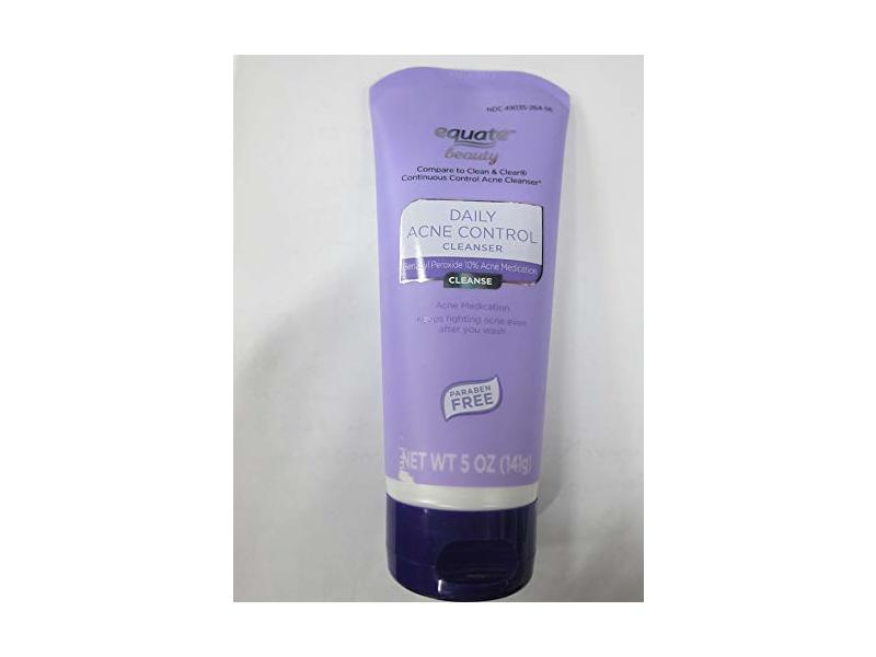 Equate Beauty Daily Acne Control Cleanser, 5 oz