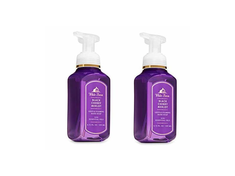 Bath & Body Works Black Cherry Merlot Gentle Foaming Hand Soap 2 pack