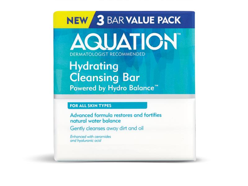 Aquation Hydrating Cleansing Bar, 4.5 oz (3 pack)