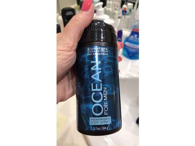 Bath & Body Works Deodorizing Body Spray For Men, Ocean, 3.7 oz - Image 3