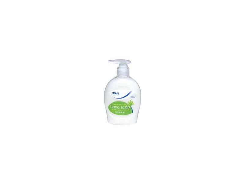 Meijer Moisturizing Hand Soap with Aloe Vera, 7.5 fl oz