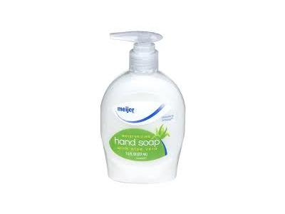 Meijer Moisturizing Hand Soap with Aloe Vera, 7.5 fl oz