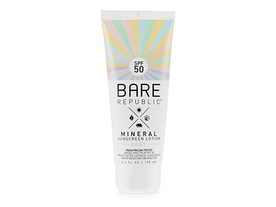 Bare Republic Mineral SPF 50 Baby Sunscreen Lotion, 3.4 oz
