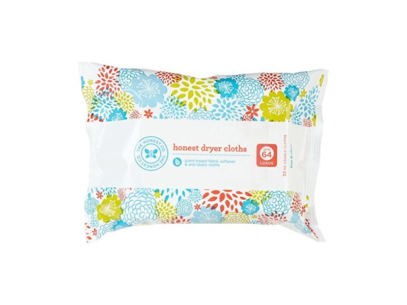 The Honest Company Dryer Cloths, 32 count