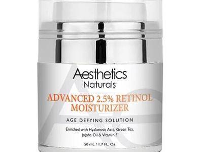 Aesthetics Naturals Advanced 2.5% Retinol Moisturizer, 1.7 fl oz
