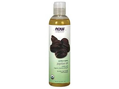 NOW Solutions Organic Jojoba Oil, 8 oz - Image 1