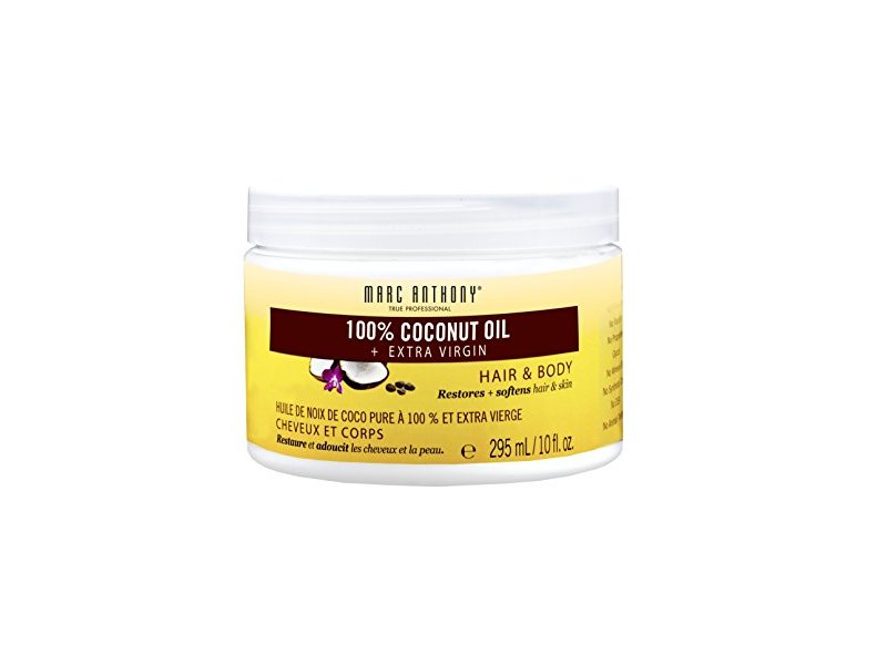Marc Anthony 100% Coconut Oil + Extra Virgin Hair & Body, 10 fl oz