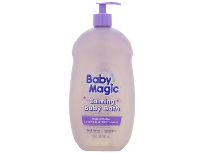 Baby Magic Calming Baby Bath, Lavender and Chamomile, 30 Fluid Ounce