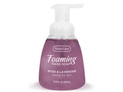 Smart Care Foaming Hand Soap, Rose And Lavender, 10.14 fl oz/300 mL