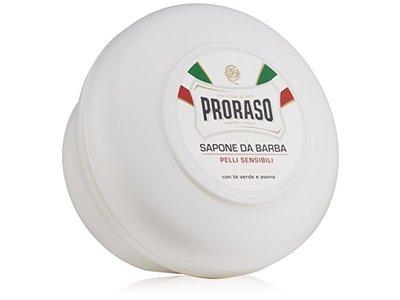 Proraso Shaving Soap in a Bowl, Sensitive Skin, 5.2 oz (150 ml)