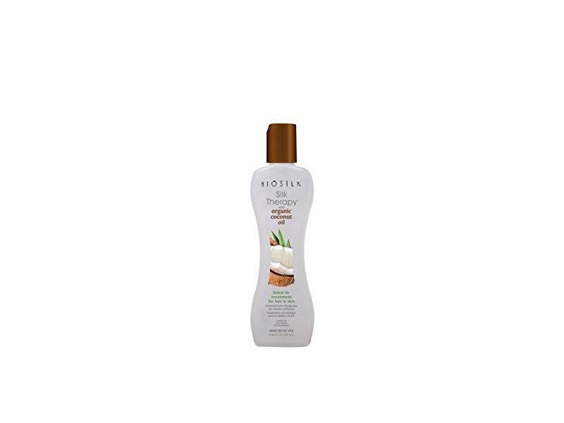 Biosilk Silk Therapy with Coconut Oil Leave-In Treatment, 5.64 oz