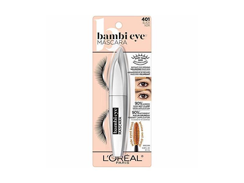 L'Oreal Paris Bambi Eye Washable Mascara, 401 Back