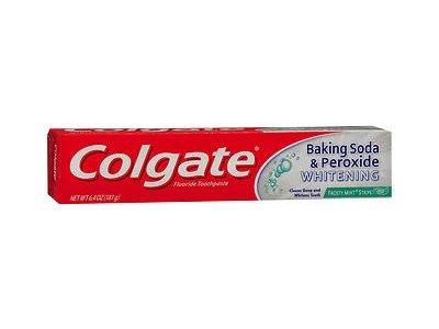 Colgate Toothpaste Bakng Soda & Peroxide Whitening Size 6z