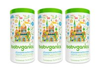BabyGanics All-Purpose Surface Wipes, Unscented, 75 Count (Pack of 3) - Image 2