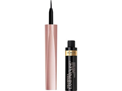 L'Oreal Paris Cosmetics Voluminous Lash Paradise Liquid Eyeliner, Black, 0.05 Fluid Ounce - Image 1