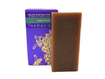 Beauty & Bees Eco-Friendly Grass Roots Solid Shampoo Bar