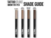 Maybelline TattooStudio Brow Tint Pen Makeup, Medium Brown, 0.037 fl. oz. - Image 9