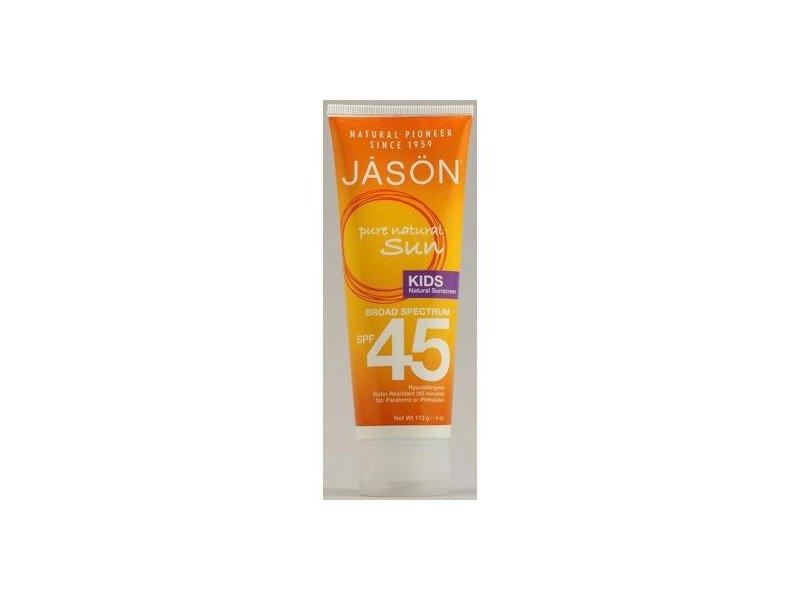 Jason Natural Kid's Natural Sunblock SPF 45 4 oz (13 Grams)