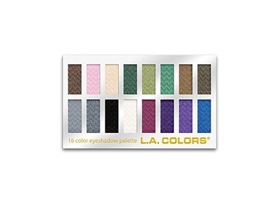 L.A. Colors 16 Color Eyeshadow Palette, Smokin', 1.02 Ounce - Image 1