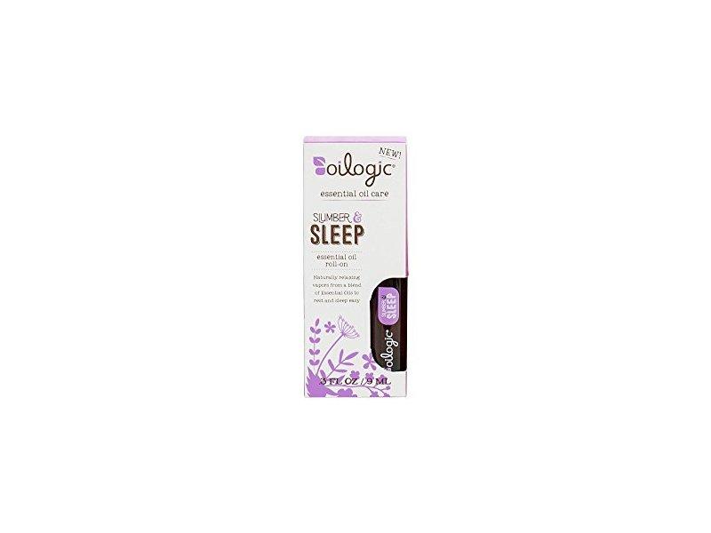 Oilogic Slumber & Sleep Essential Roll-On Oil, 0.3 oz