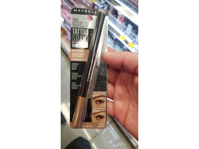 Maybelline TattooStudio Brow Tint Pen Makeup, Soft Brown, 0.037 fl. oz. - Image 11