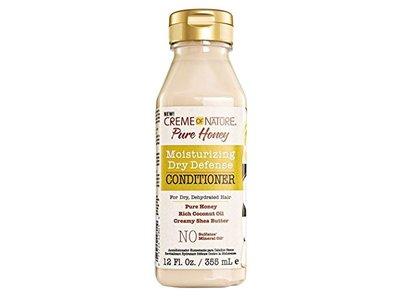 Creme Of Nature Moisturizing Dry Defense Conditioner, Pure Honey,12 fl oz (Pack of 3)